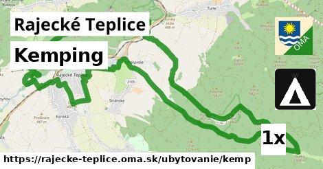 kemping v Rajecké Teplice