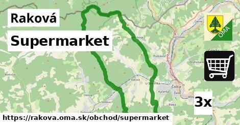 supermarket v Raková