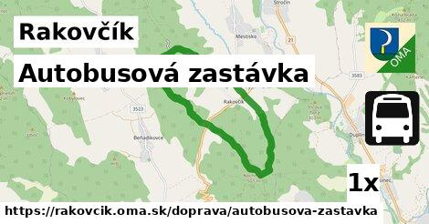 ilustračný obrázok k Autobusová zastávka, Rakovčík