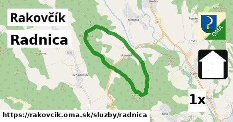 ilustračný obrázok k Radnica, Rakovčík