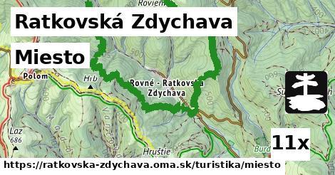 miesto v Ratkovská Zdychava