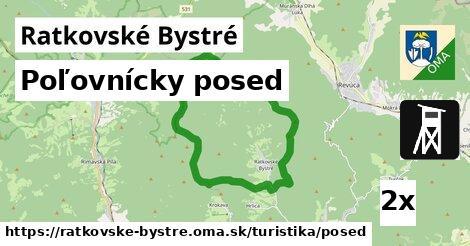 ilustračný obrázok k Poľovnícky posed, Ratkovské Bystré