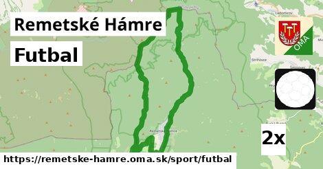 futbal v Remetské Hámre