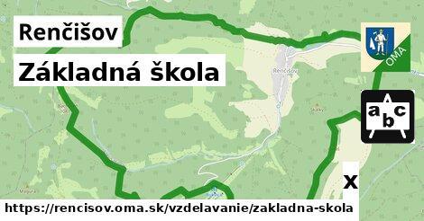ilustračný obrázok k Základná škola, Renčišov