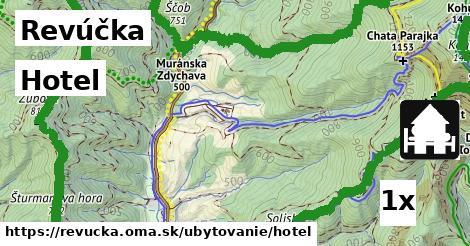 hotel v Revúčka