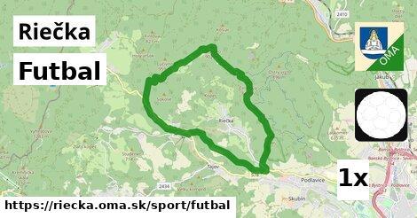 futbal v Riečka