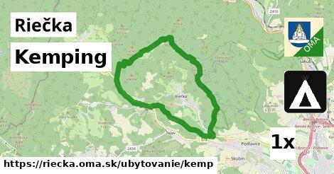 kemping v Riečka