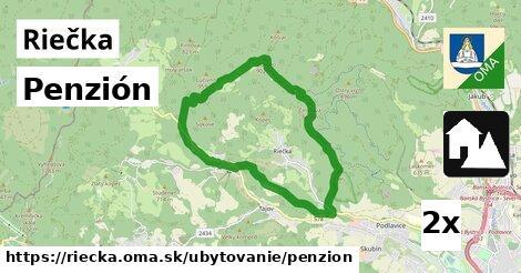 penzión v Riečka