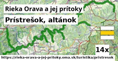 ilustračný obrázok k Prístrešok, altánok, Rieka Orava a jej prítoky