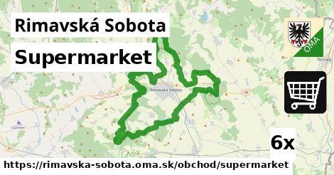 Supermarket, Rimavská Sobota