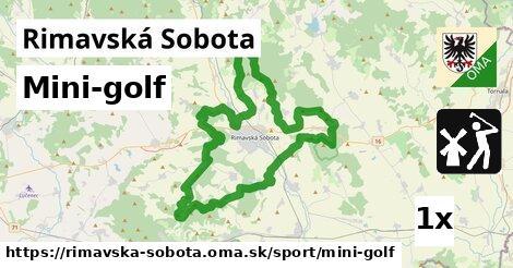 mini-golf v Rimavská Sobota