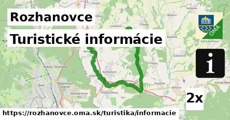 ilustračný obrázok k Turistické informácie, Rozhanovce