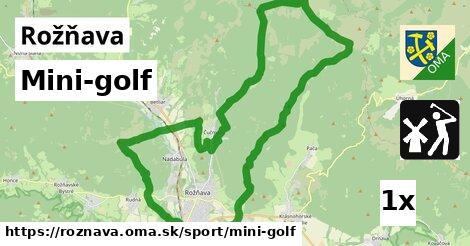 Mini-golf, Rožňava