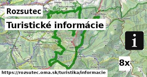 turistické informácie v Rozsutec
