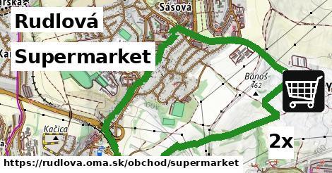 supermarket v Rudlová