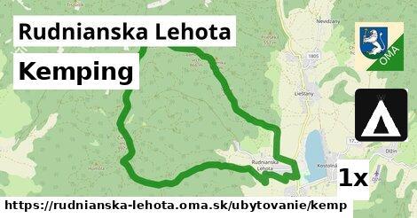 ilustračný obrázok k Kemping, Rudnianska Lehota