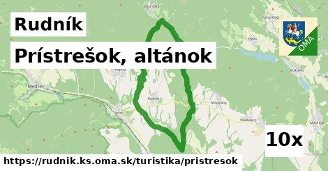 ilustračný obrázok k Prístrešok, altánok, Rudník, okres KS
