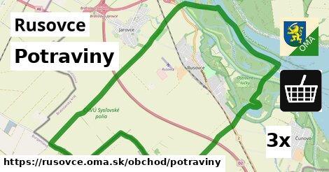 ilustračný obrázok k Potraviny, Rusovce