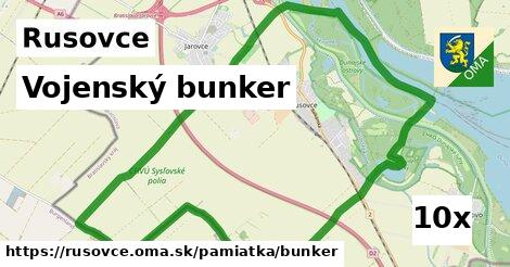 ilustračný obrázok k Vojenský bunker, Rusovce