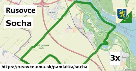 ilustračný obrázok k Socha, Rusovce