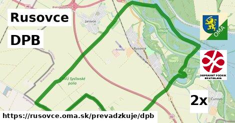 ilustračný obrázok k DPB, Rusovce