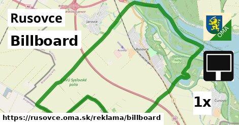 ilustračný obrázok k Billboard, Rusovce