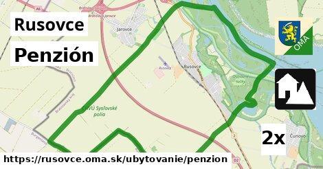 penzión v Rusovce