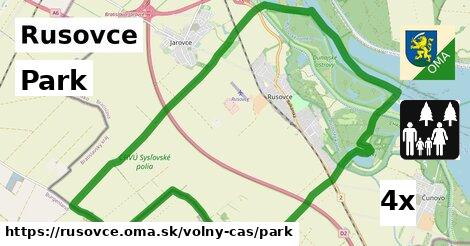 ilustračný obrázok k Park, Rusovce
