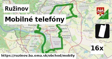 mobilné telefóny v Ružinov