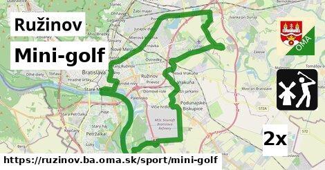 mini-golf v Ružinov