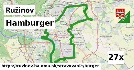 hamburger v Ružinov
