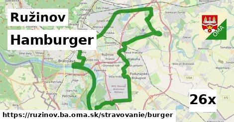 ilustračný obrázok k Hamburger, Ružinov