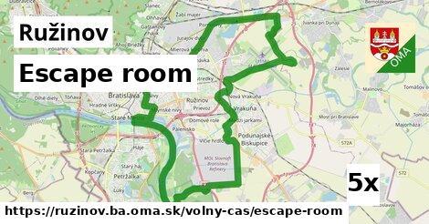 escape room v Ružinov