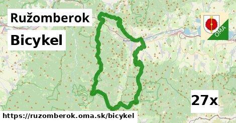bicykel v Ružomberok