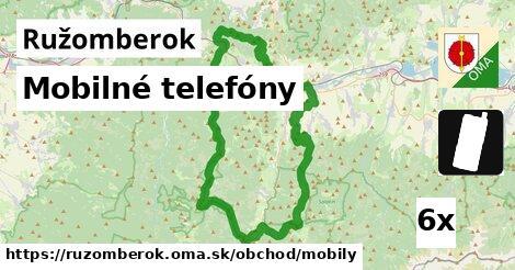 mobilné telefóny v Ružomberok