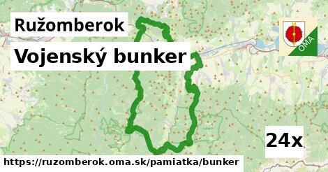 vojenský bunker v Ružomberok