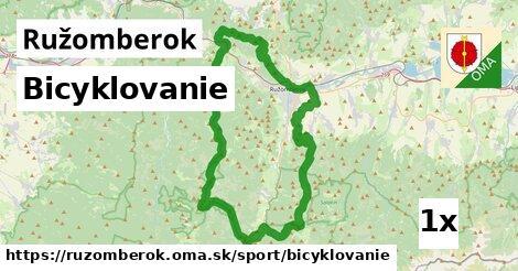 bicyklovanie v Ružomberok