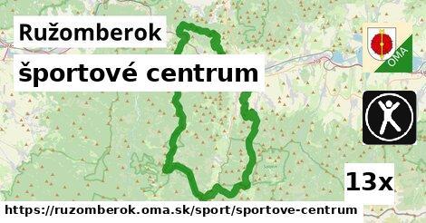 športové centrum v Ružomberok