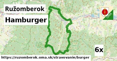 hamburger v Ružomberok