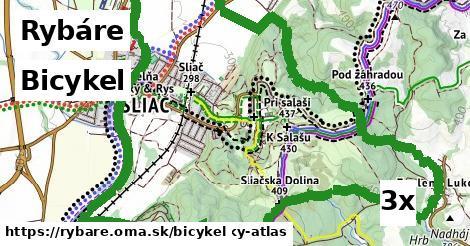 bicykel v Rybáre