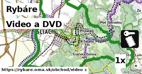 video a DVD v Rybáre