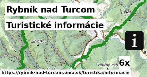 turistické informácie v Rybník nad Turcom
