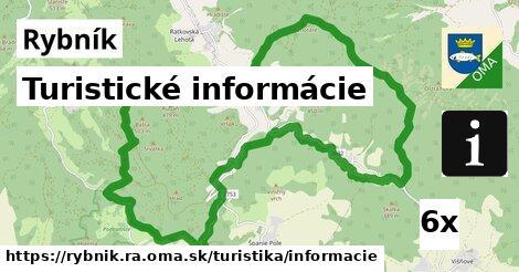 turistické informácie v Rybník, okres RA