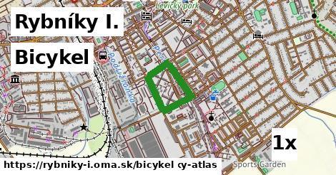 bicykel v Rybníky I.