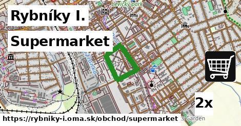supermarket v Rybníky I.