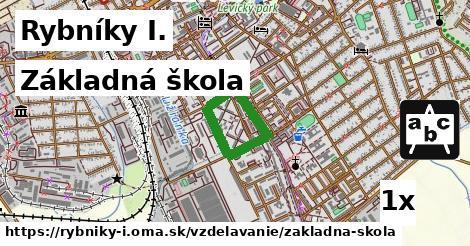 základná škola v Rybníky I.