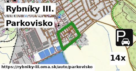 parkovisko v Rybníky III.