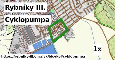 cyklopumpa v Rybníky III.
