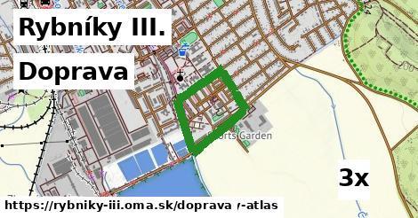 doprava v Rybníky III.