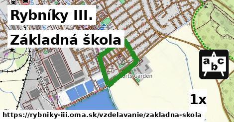 základná škola v Rybníky III.